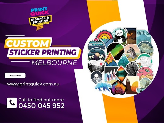 Custom Stickers Printing Melbourne