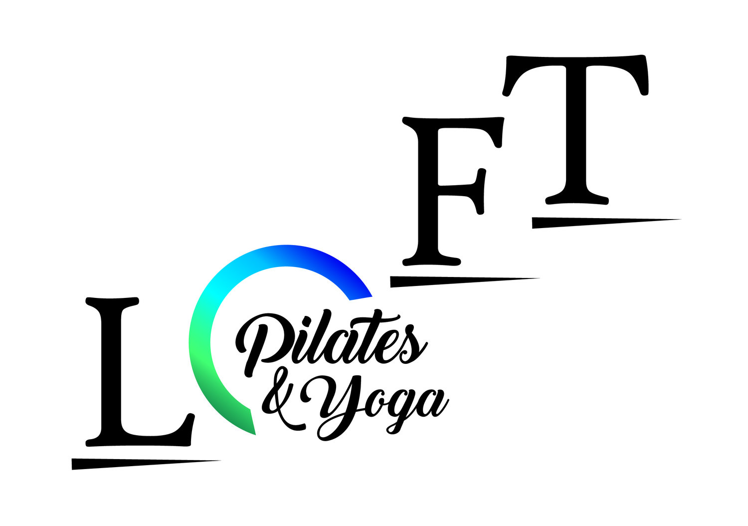 Logo pilates yoga loft