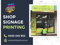 Shop Signage Printing Services