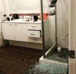 Broken Shower Door DC